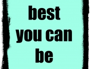 best you can be
